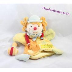 Doudou marionnette clown DOUDOU ET COMPAGNIE Le rire médecin