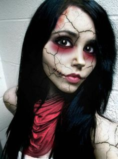 24 Halloween Makeup Ideas – The Face For Halloween Entirely Change ...