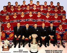 May 1 Stanley Cup: Montreal Canadiens beat Chicago Blackhawks, 4 games to 3 Montreal Canadiens, Hockey Teams, Hockey Players, Ice Hockey, Hockey Stuff, Team Pictures, Team Photos, Hockey Highlights, Historia