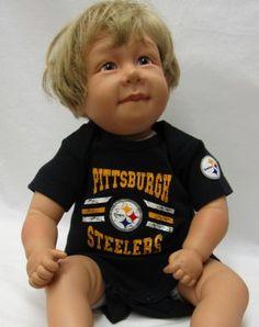 Steelers 100% Steelers Fan Bodysuit Set Pittsburgh Steelers Merchandise, Bodysuit, Fan, Onesie, Hand Fan, Leotards, Fans, Baby Onesie, Girdles