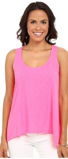 Lilly Pulitzer Monterey Tank Top (Kir Royal Pink) Women's Sleeveless - Lilly Pulitzer, Monterey Tank Top, 24138-608-608, Apparel Top Sleeveless, Sleeveless, Top, Apparel, Clothes Clothing, Gift, - Street Fashion And Style Ideas