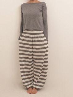 Loungewear pigiameria pigiama di gamba larga pigiama di Anaoiss