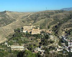 Abadía del Sacromonte desde el LLano de La Perdiz