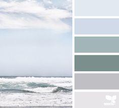 Color Sea via @designseeds