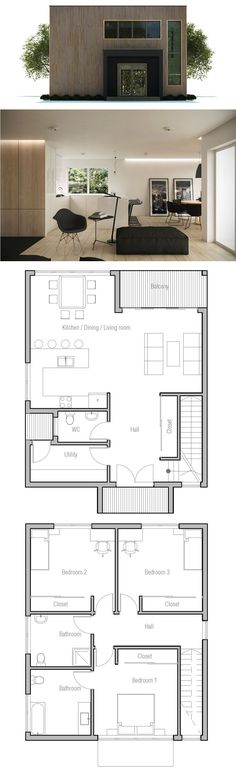 Small House Plan                                                                                                                                                      More