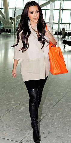 kardashian fashion | ... Style - KIM KARDASHIAN - Airport Style, Kim Kardashian : People.com