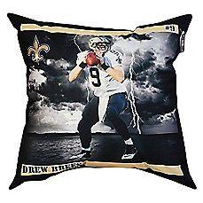 NFL New Orleans Saints Drew Brees Floor Pillow; $34.99