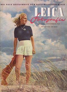 FIRST Leica Fotografie Magazine GERMAN Aug 1949 Color Photographs
