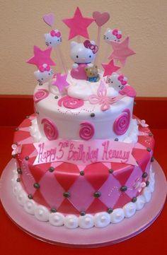 Idee torte di Hello Kitty (Foto)   Ricette pourfemme