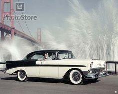 1956Chevy Bel Air Sport Sedan (4dr hardtop)