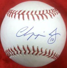 Chipper Jones Autographed Baseball
