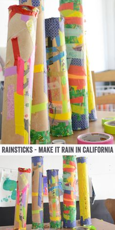 It's no secret that California is suffering one of the worst droughts in it's history. We really need some rain yo! In an effort to combine art, education and some good ol' fashioned spiritual magic, we made rain sticks in art class last week. We even did a rain dance at the end of class(...)