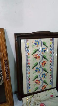 Hesap isi ***** Floral Border, Bargello, Diy And Crafts, Cross Stitch, Traditional, Embroidery, Crochet, Frame, Pattern