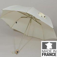 Ombrelle La Monarque. Un modèle pliant du plus belle effet.
