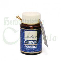 Tongil, Cápsulas de Ginko 6.500 mg Estado Puro de Tongil, a base de extracto seco de hoas de Ginko biloba, favorece la memoria y la concentración.