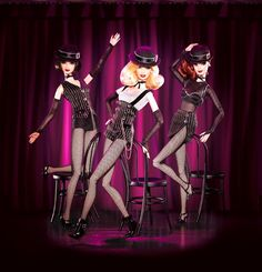 barbie doll dancers | Shop » Fashions » Jazz Baby ™ Dolls