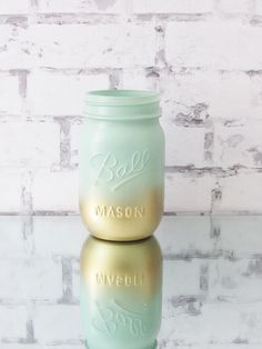 Ombre Jars - Mint We