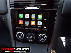 Mazda RX8 with Apple CarPlay installed by DriveSound.