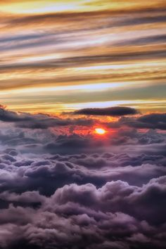 Globe Pics | Sunshine above the clouds