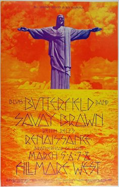 Psychedelic Art Exchange | Concert Poster Store — (BG-221) Butterfield Blues Band, Fillmore West