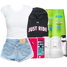 crappy, created by kiaratee Swag Outfits For Girls, Cute Swag Outfits, Teen Girl Outfits, Cute Comfy Outfits, Dope Outfits, Simple Outfits, Stylish Outfits, Summer Outfits, Teen Fashion