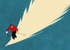 Vintage ski - uncredited