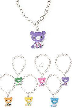 Kids Teddy Bear Bracelet