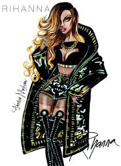 Rihanna - by Armand Mehidri Fashion Week, Fashion Art, Editorial Fashion, New Fashion, Runway Fashion, Trendy Fashion, Fashion Models, Girl Fashion, Fashion Outfits