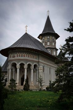 Camarzani Monastery Christian Church, Romania, Louvre, Europe, Popular, Architecture, Building, Water, Travel