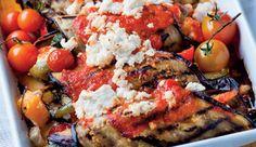 Roasted vegetable and ricotta involtini  #recipe.