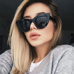 New Retro Fashion Sunglasses Women Brand Designer Vintage Cat Eye Black Sun Glasses Female Lady Oculos Uv400 Sunglasses, Retro Sunglasses, Cat Eye Sunglasses, Luxury Sunglasses, Sunglasses Accessories, Black Sunglasses, Summer Sunglasses, Sunglasses Outlet, Cat Women