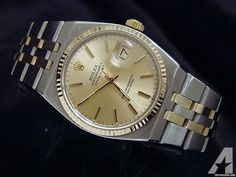 for sale, The original Rolex stainless steel case with solid yellow gold fluted bezel . Americanlisted has classifieds in Keller, Texas for watches and jewerly High End Watches, Rolex Datejust, Stainless Steel Case, Flute, Michael Kors Watch, Rolex Watches, Dating, Gold, Accessories