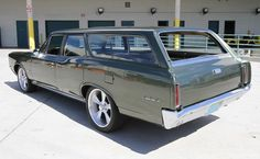 1966 Pontiac GTO Custom Station Wagon