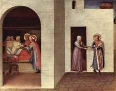 Fra Angelico : San Marco Altarpiece 2/10  1390/95-1455 フラ・アンジェリコ