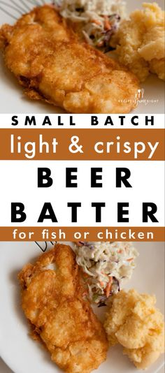 Cod Fish Recipes, Fried Fish Recipes, Seafood Recipes, Recipes Dinner, Cooking Recipes, Chicken Recipes, Fish Batter Recipe Without Beer, Fish Beer Batter Recipe, Beer Batter For Fish