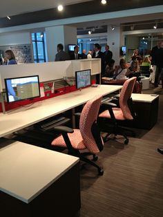 National Office Furniture - Chicago Show 2012 #NationalOffice #FurnitureWithPersonality