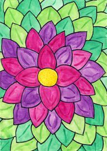 Fantasieblume - wir locken den Frühling