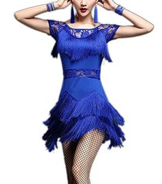 whitewed Womens Great Gatsby Inspired Dance Party Attire Clothing with SleevesBlueSmall * Learn more by visiting the image link. (This is an affiliate link) Casual Dress Outfits, Night Outfits, Inspire Dance, Vestidos Flapper, Womens Cocktail Dresses, Gatsby, Dance Wear, Dress Brands, Lace Shorts
