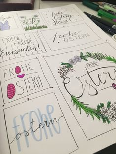 Happy Easter her bunnies - Eventplanung - - Happy Easter her bunnies – Eventplanung Lettering Frohe Ostern ihre Hasen Easter Art, Hoppy Easter, Easter Crafts For Kids, Easter Bunny Pictures, Rabbit Crafts, Easter Games, Diy Crafts To Do, Easter Printables, Hand Lettering