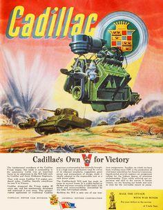 Cadillac 1943 TANK NO CARS MADE 1943 WWII