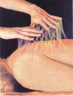 Healing the energy field///