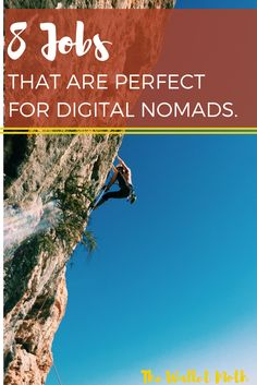 There are a huge number of options for creating the digital nomad lifestyle. Here are just 8!
