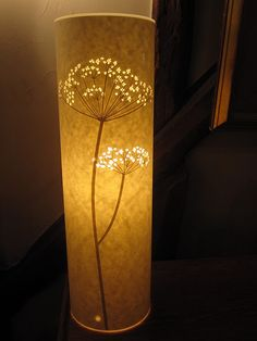 Cool night light... cut craft label paper...have to try it.