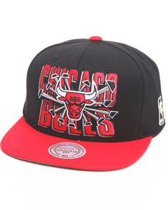 Mitchell & Ness   Chicago Bulls Backboard Breaker 2t Snapback Hat
