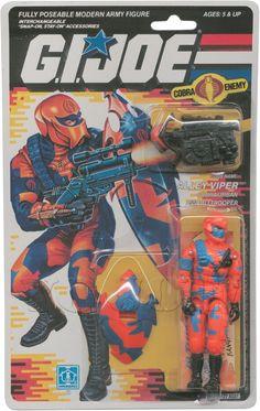 Alley Viper (v1) G.I. Joe Action Figure - YoJoe Archive