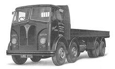 An Invincible 8-wheel lorry