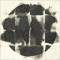 "Eunice Kim, Tessellation (16-3) #20, collagraph, 12""x12"", 2011"