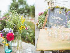 rustic wedding ideas - photo by Paper Antler http://ruffledblog.com/jackson-meadow-wedding
