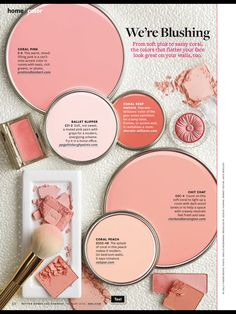 Better Homes and Gardens Paint Samples - We're Blushing