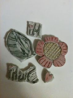 I created the flower stamp first, it is one I have drawn for years, then of course the leaf, then I tried my stamping name,Sushi, and was surprised that it was easier than I thought, then Hi and then a heart so that the card could read Hi Heart Sushi.  It was so hard to stop.  Can't wait to try my hand at some more.